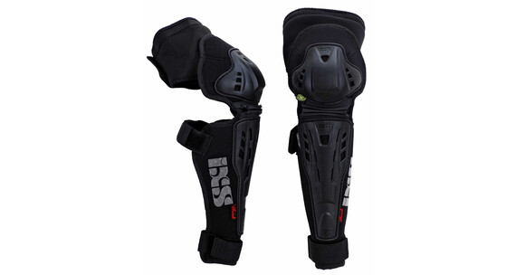 IXS Assault Knee/Shin Guard black